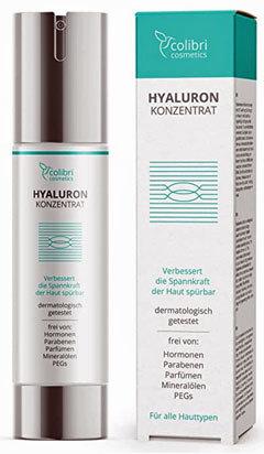 colibri cosmetics Hyaluronan-Konzentrat